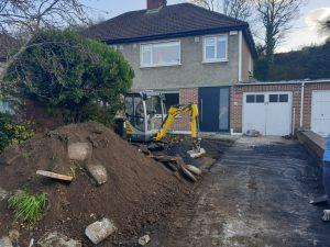 New Granite Gravel Driveway in Wicklow