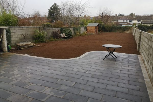 Redesigned Patio in Wicklow