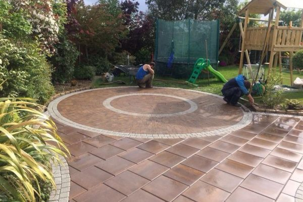 Patio Paving Laying in Wicklow